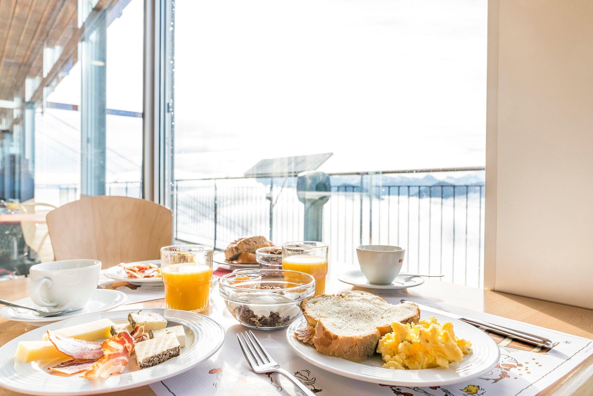 Frühstück auf den Stockhorn