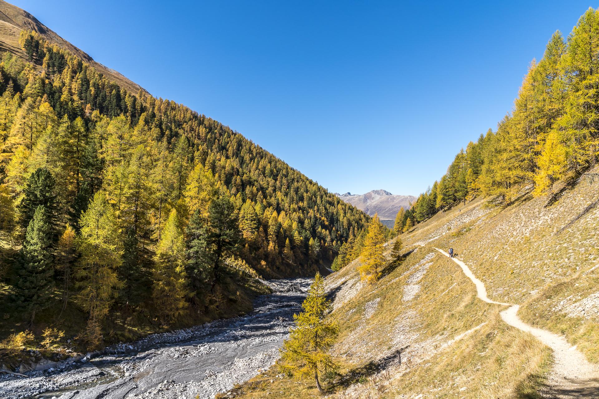 Val Trupchun Herbstwanderung