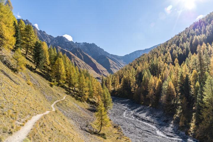 Val Trupchun: schöne Herbstwanderung im Engadin