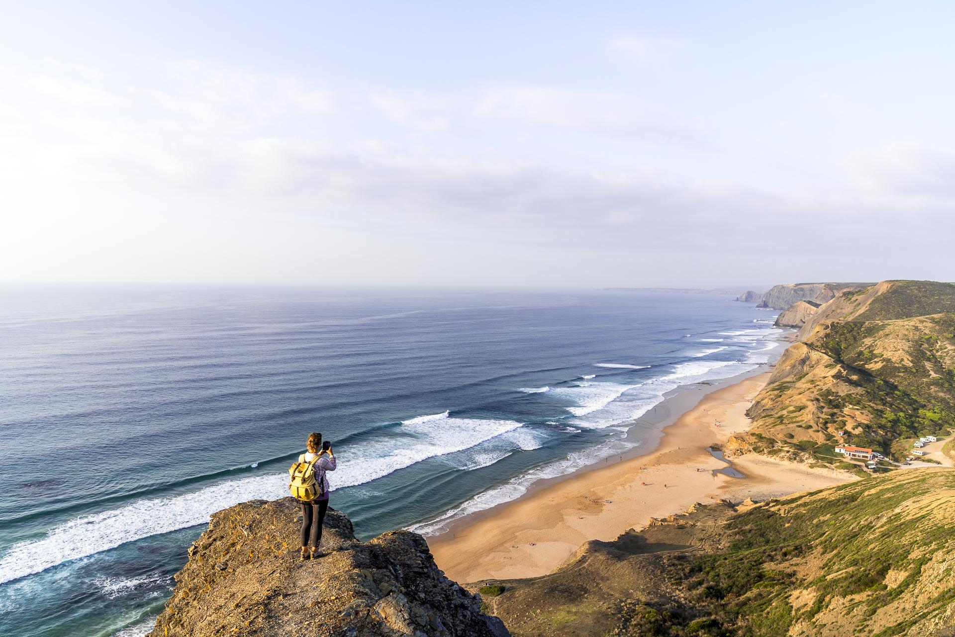 Aussicht Praia da Cordoama