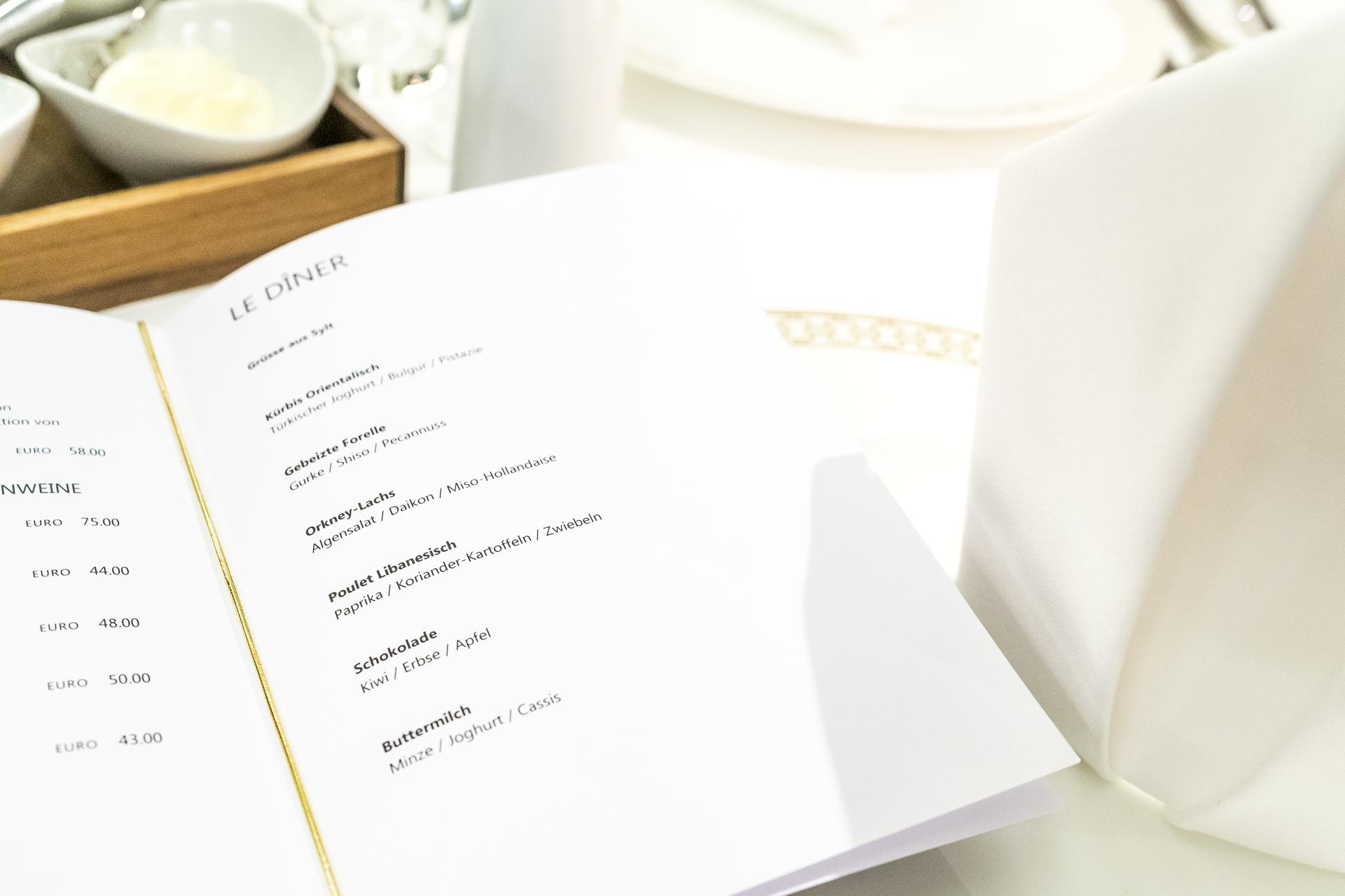Einstein Gourmet auf der Excellence Princess