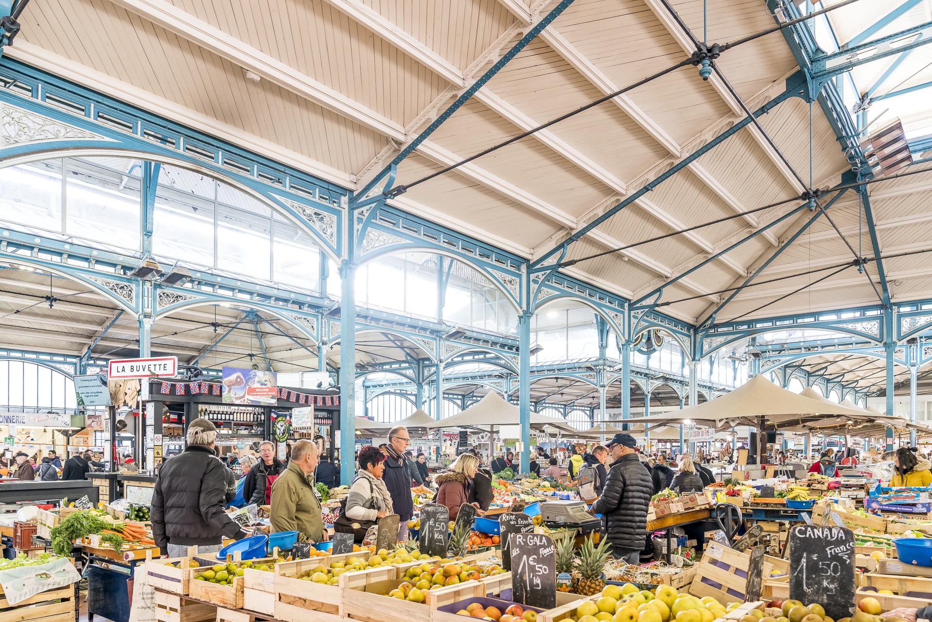 Markthalle Dijon Sightseeingtipp