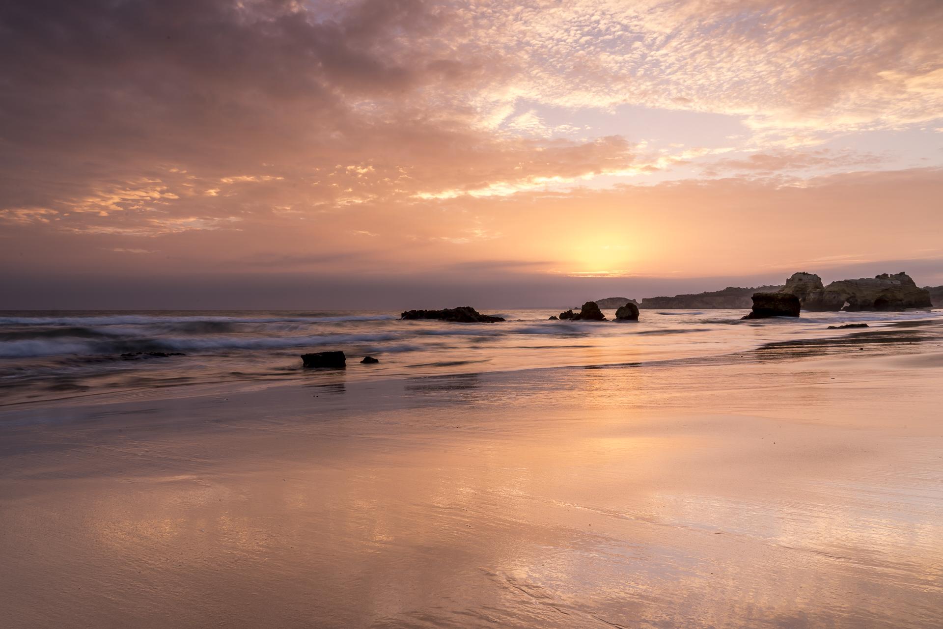 Sonnenuntergang Praia da Rocha