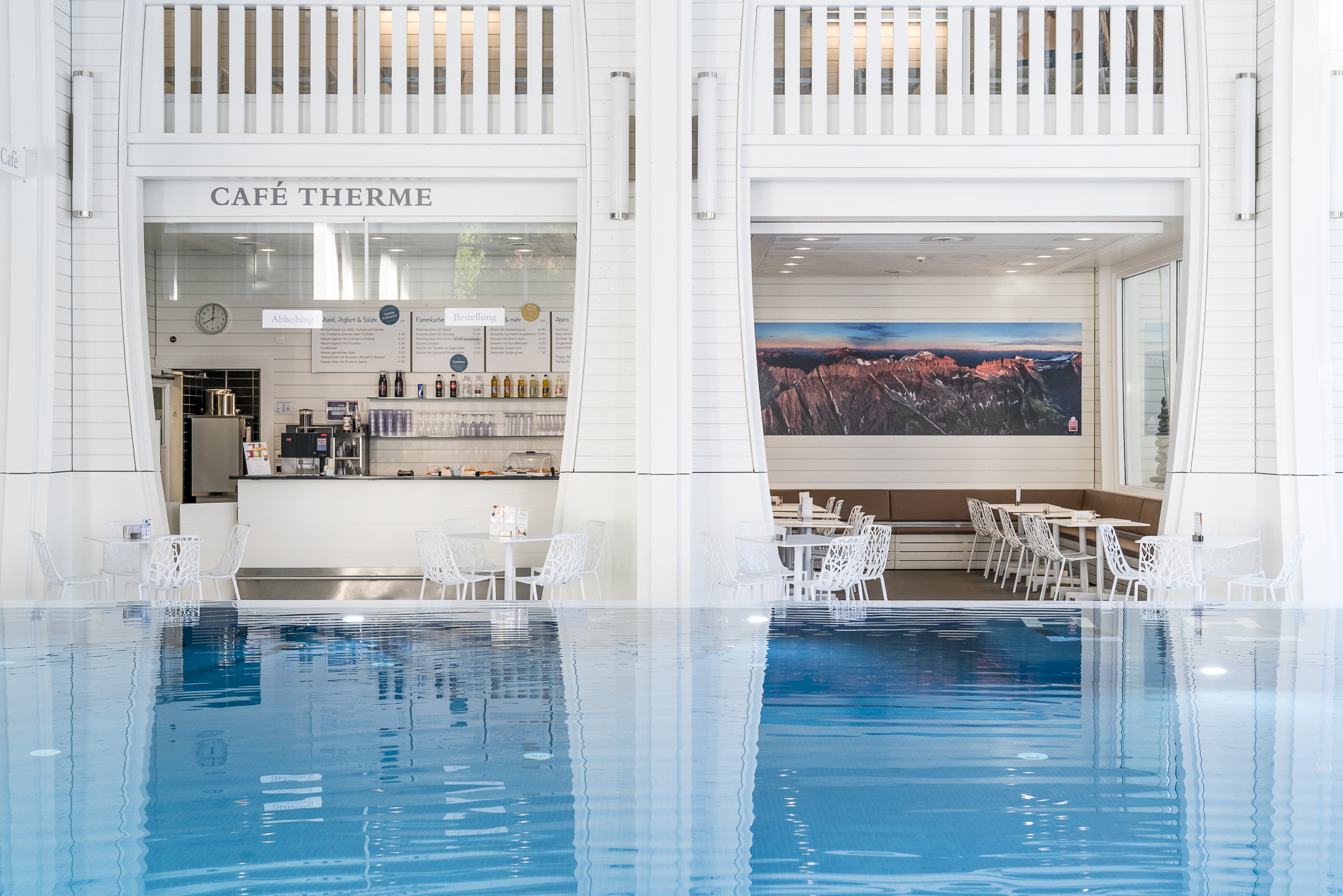 Cafe Therme Tamina