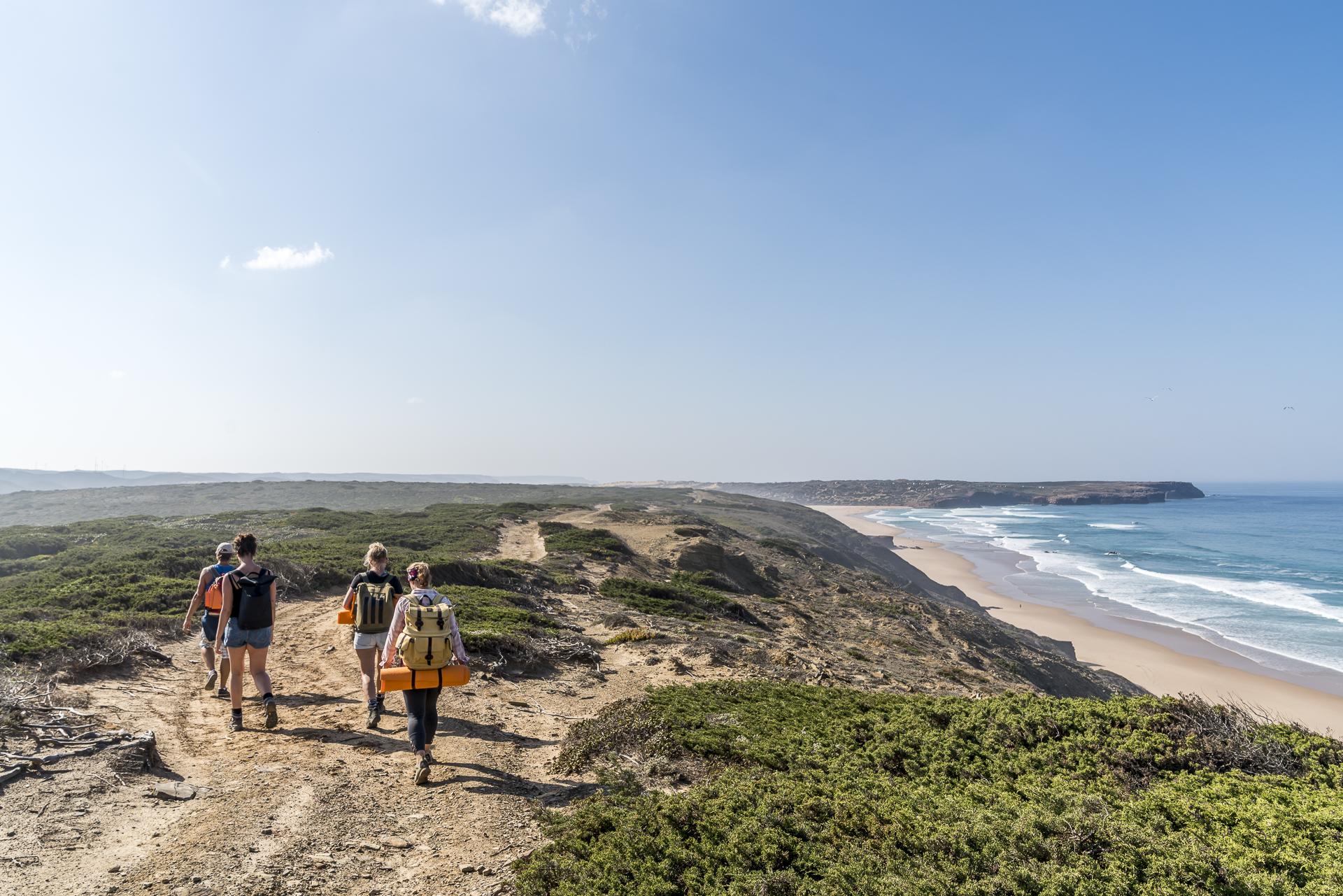 Wanderung Praia da Bordeira