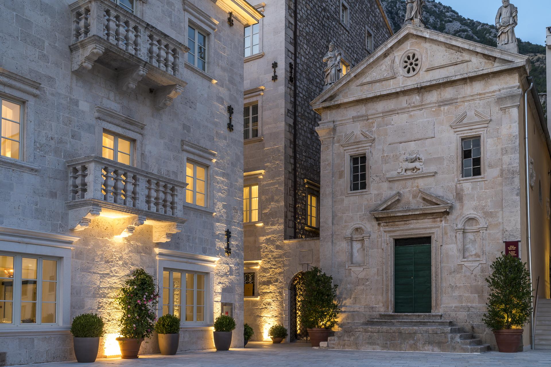 Abendstimmung Hotel Iberostar Perast