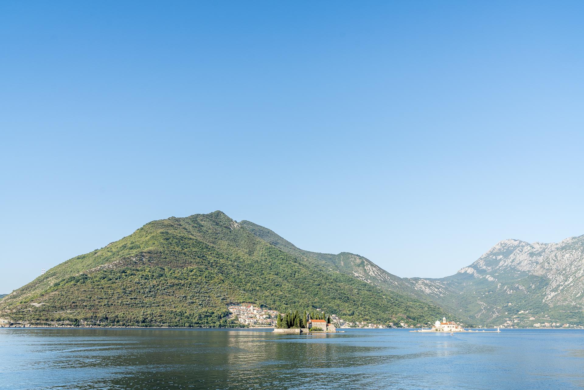 Inseln Bucht Kotor