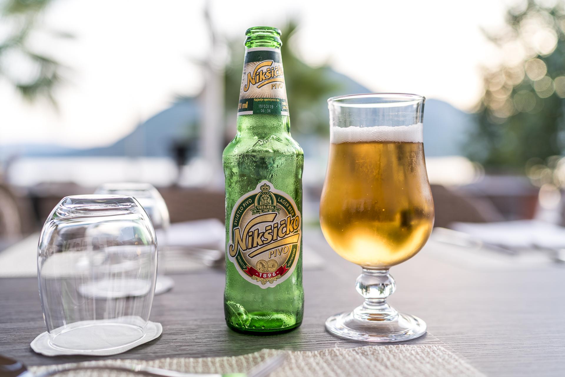 Lokales Bier Montenegro