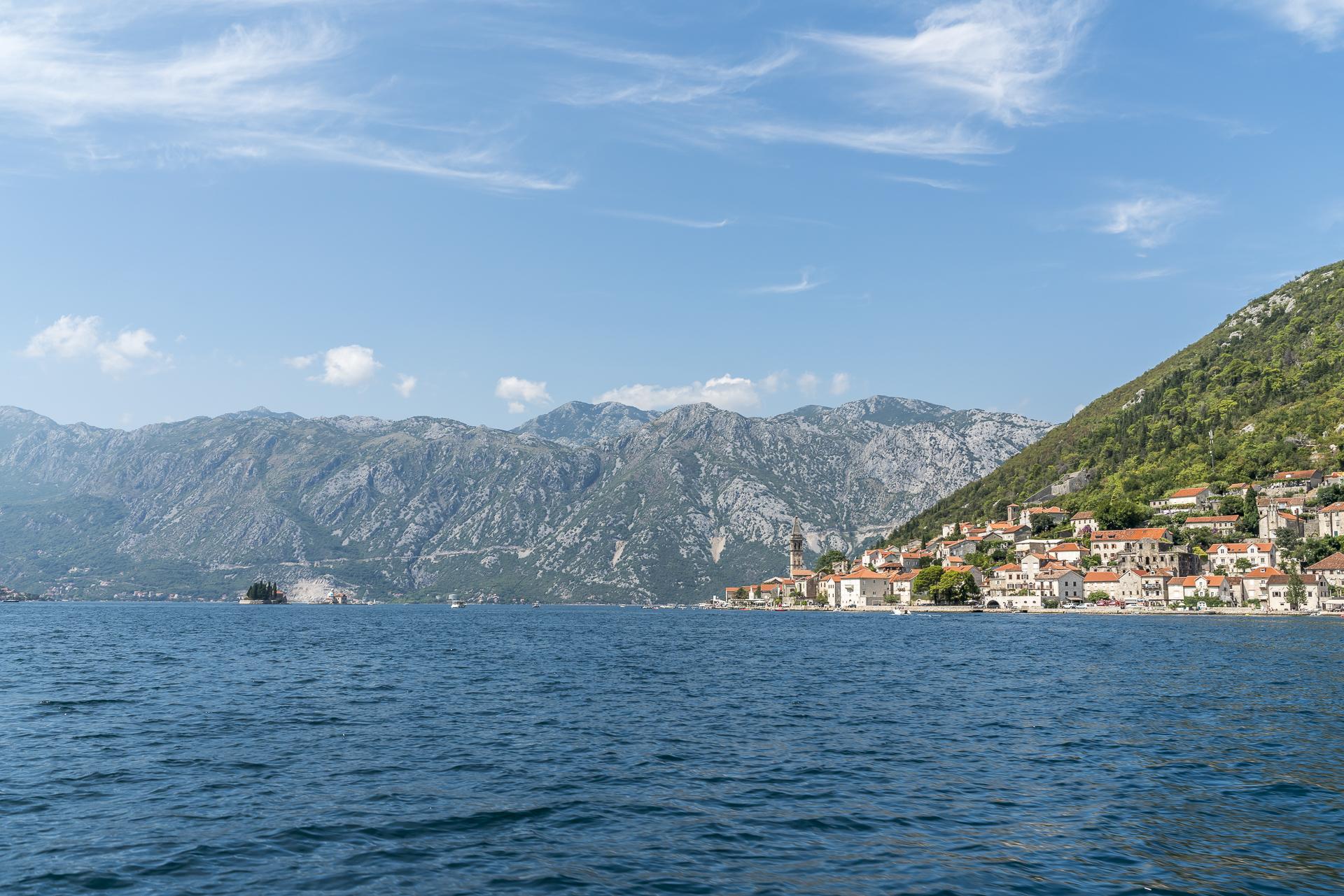 Perast Bucht Kotor