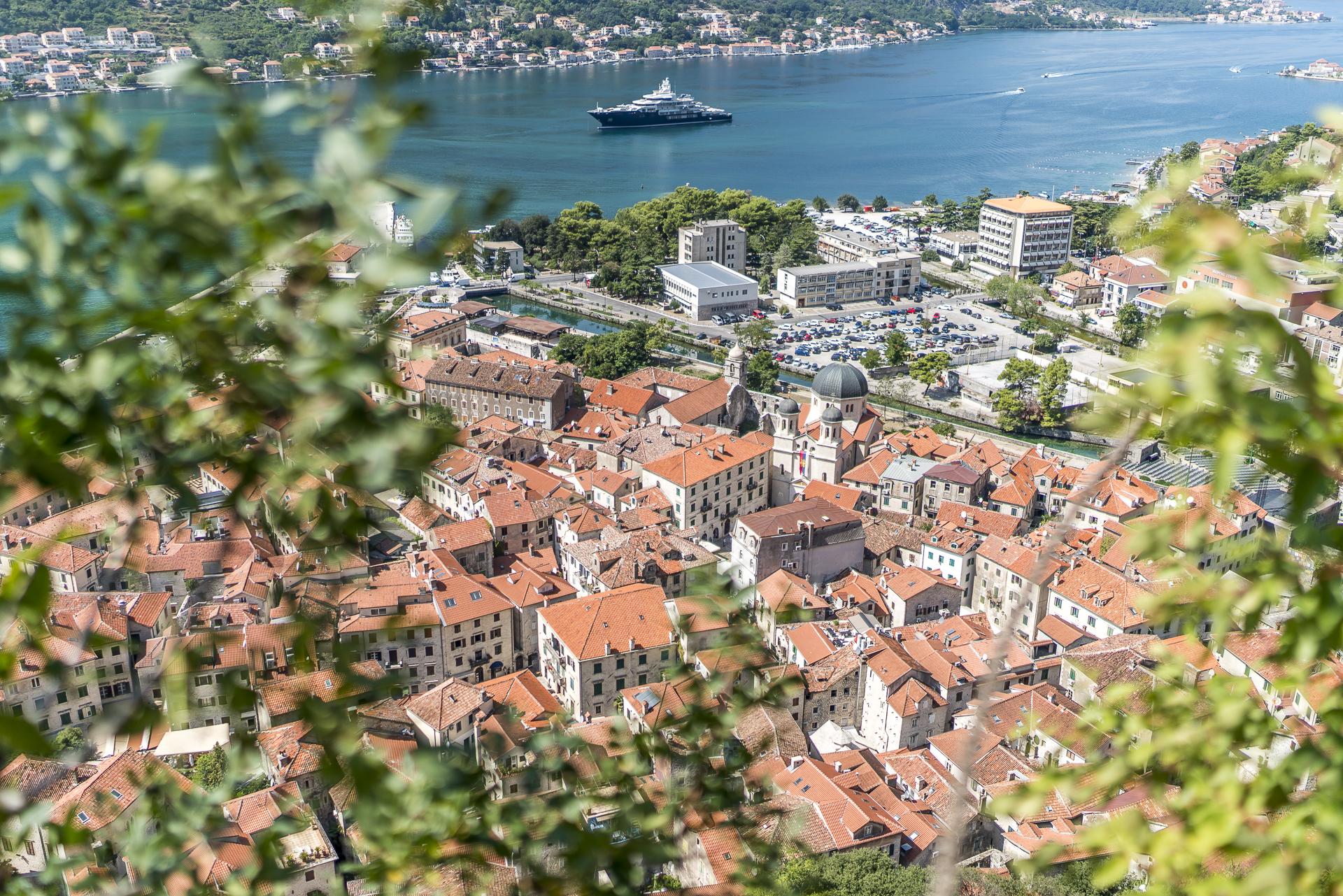 Sicht auf Kotor