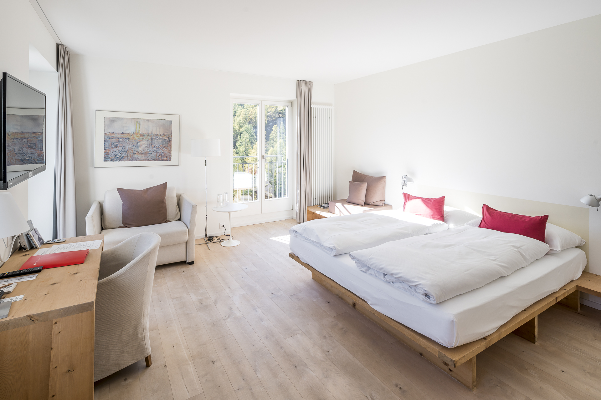 Castell Zuoz Zimmer