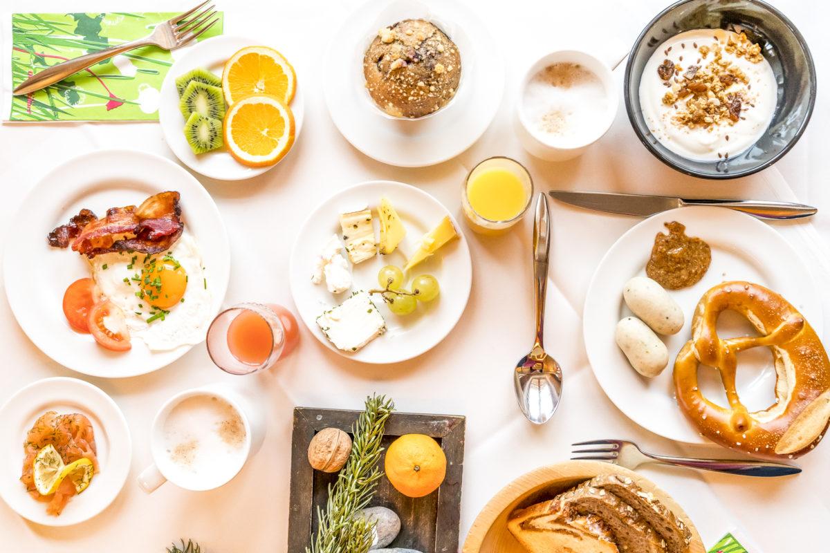 Frühstück im Hotel Oberstdorf