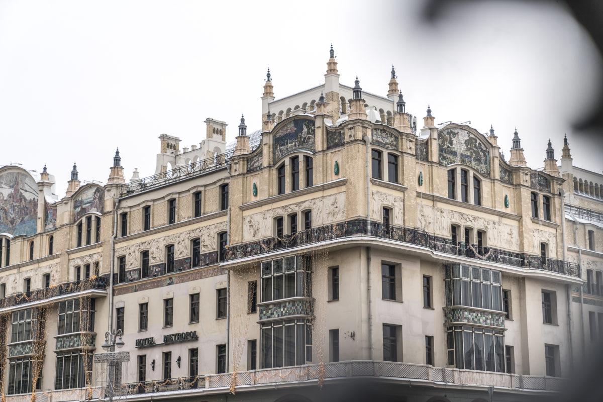 Hotel Metropol Moskau Fassade