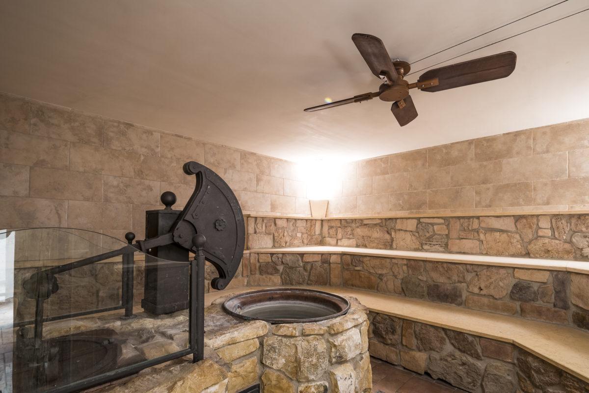Steinbad Sauna