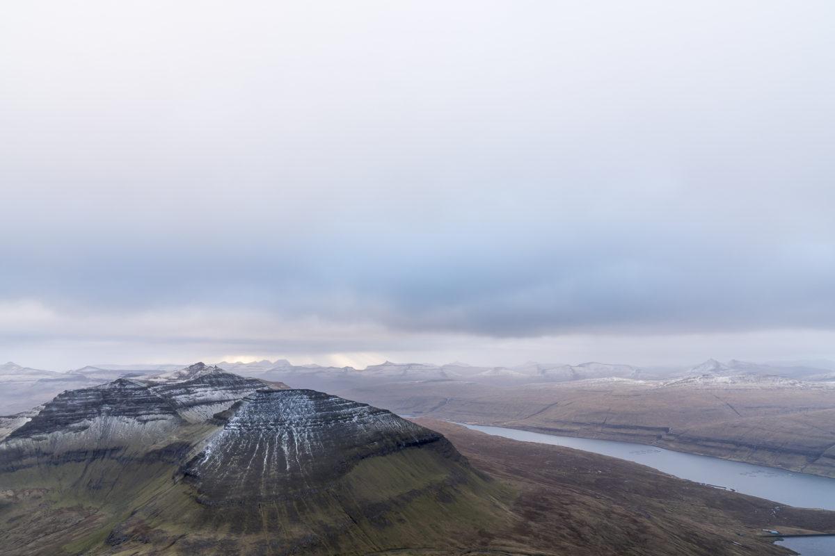 Aussicht Slaettaratindur Färöer