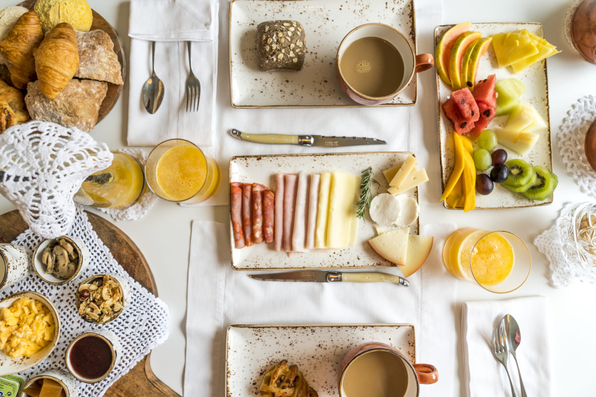 Frühstück im Luz Charming House Portugal