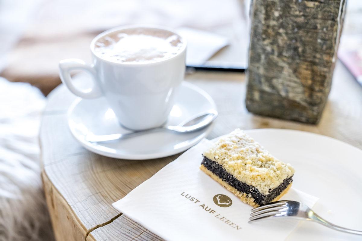 Lust auf Leben Kaffee und Kuchen
