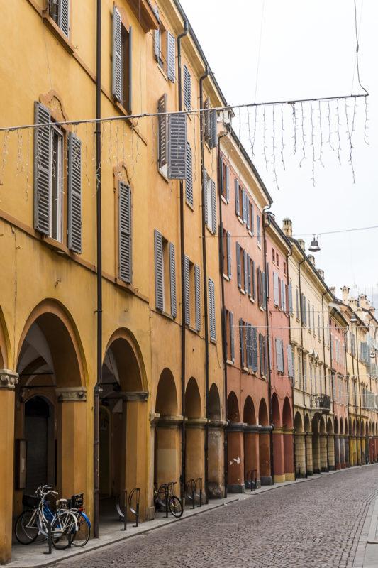 Modena Altstadtgassen