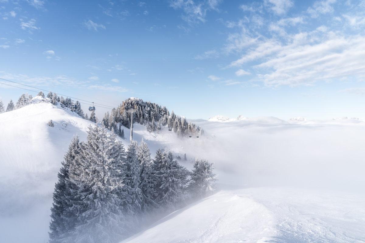 Saanenmöser Nebelmeer