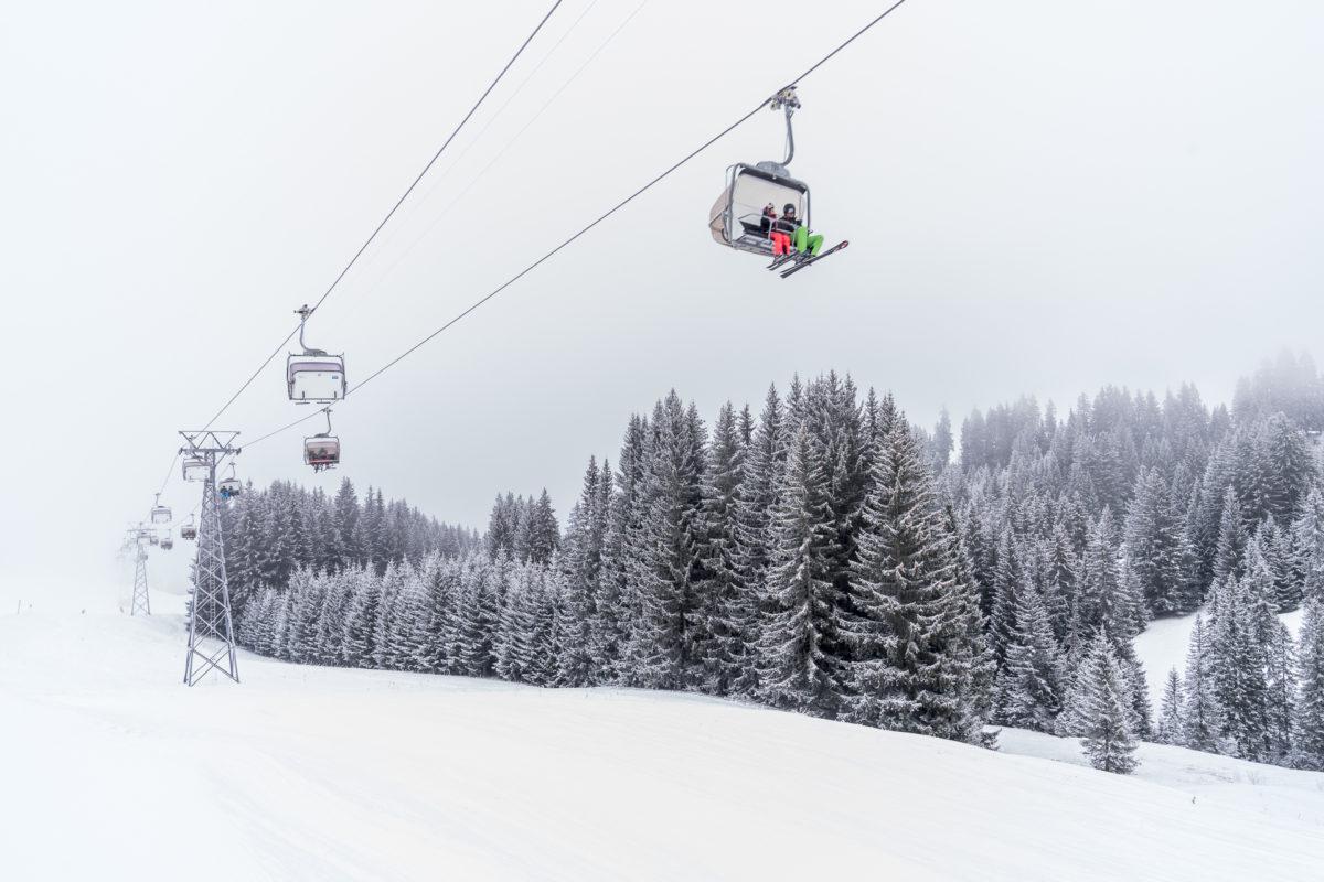 Skigebiet Saanenmöser