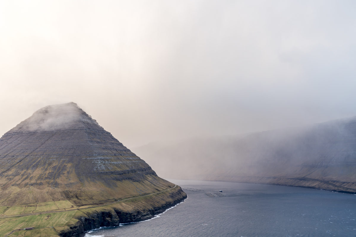 Watterkapriolen auf den Färöer-Inseln