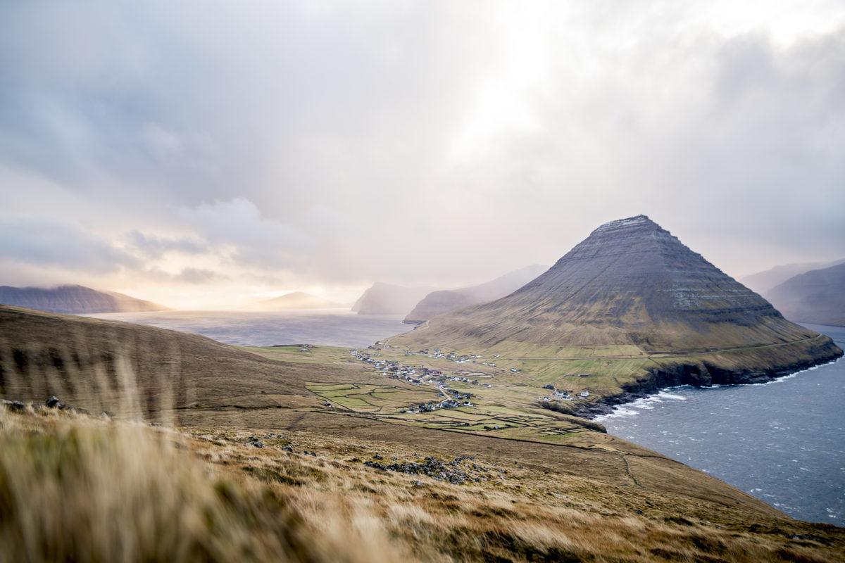 Villingardalsfjall Färöer-Inseln