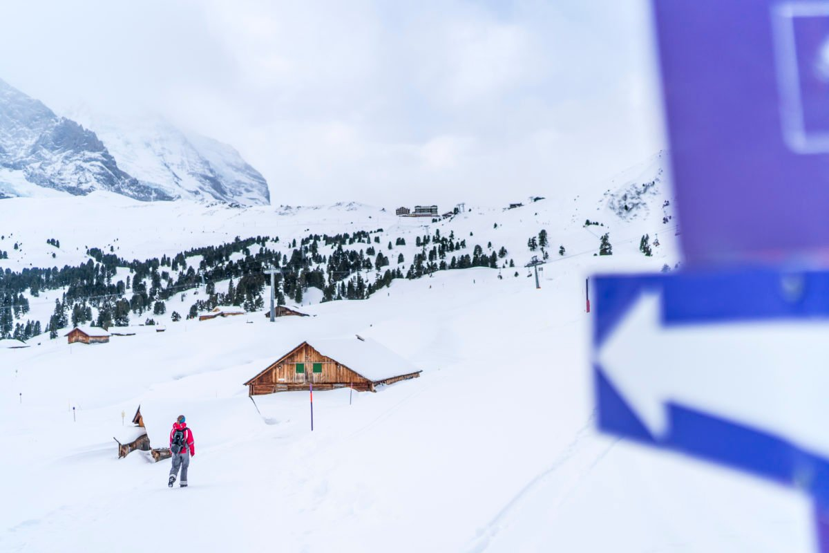 Aufstieg Kleine Scheidegg