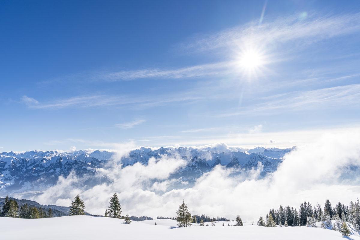 Aussicht Glaubenberg Zentralschweiz