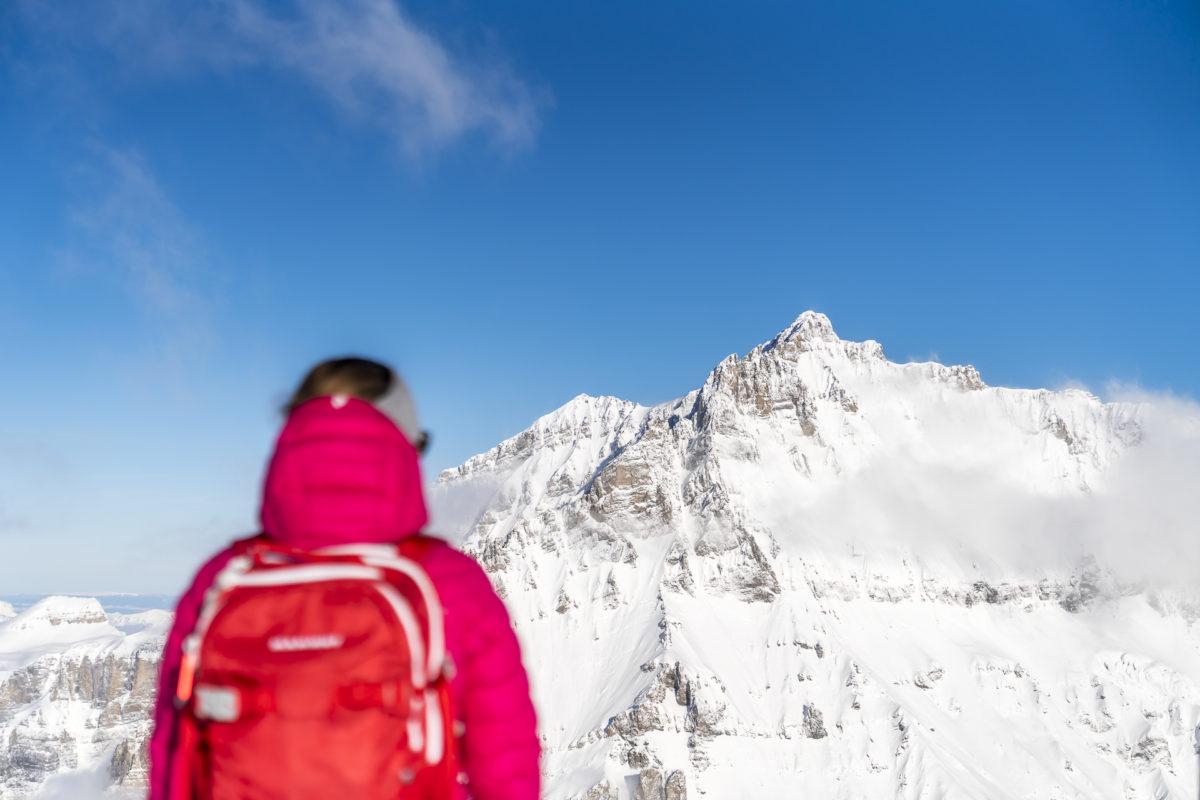 Aussicht Hockenhorngrat Lauchernalp