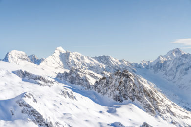 Aussichtspunkt Hockenhorngrat Wallis