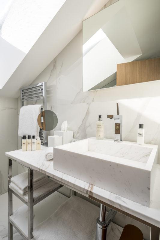 Badezimmer Schweizerhof Zermatt
