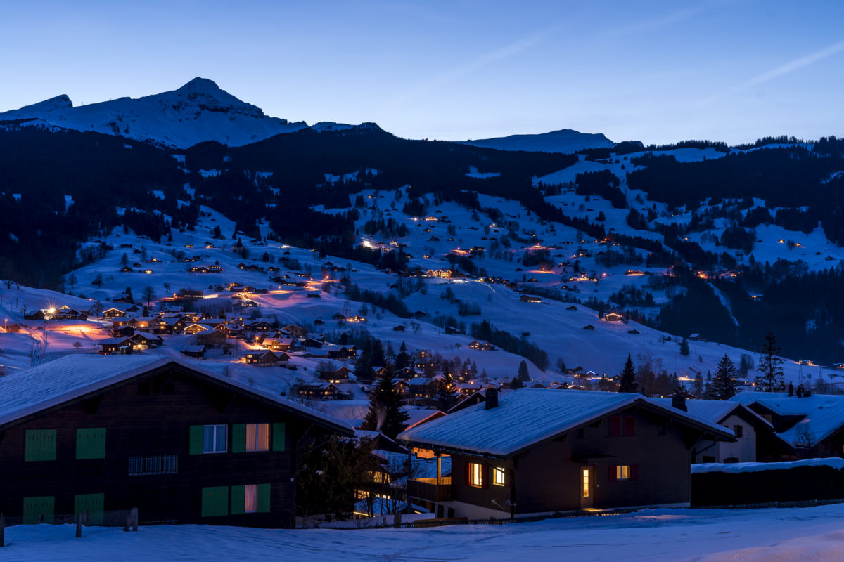 Grindelwald by Night
