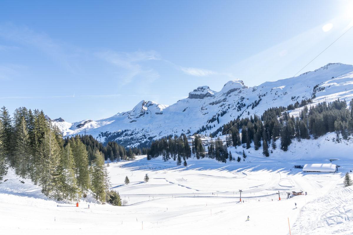 Hoch Ybrig Skigebiet