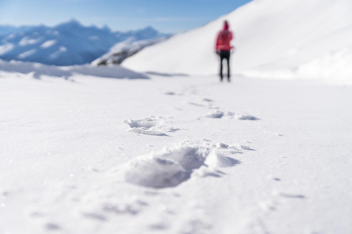 Höchste Winterwanderung Europas Lauchernalp