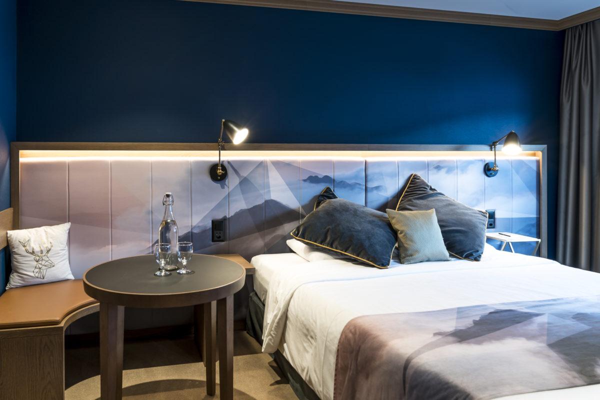 Hotel Glacier Grindelwald Zimmer