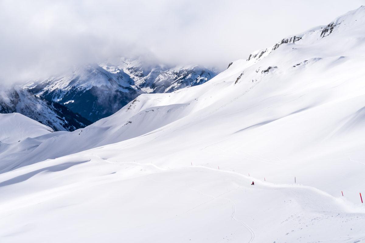 Längste Schlittenabfahrt Faulhorn-Grindelwald
