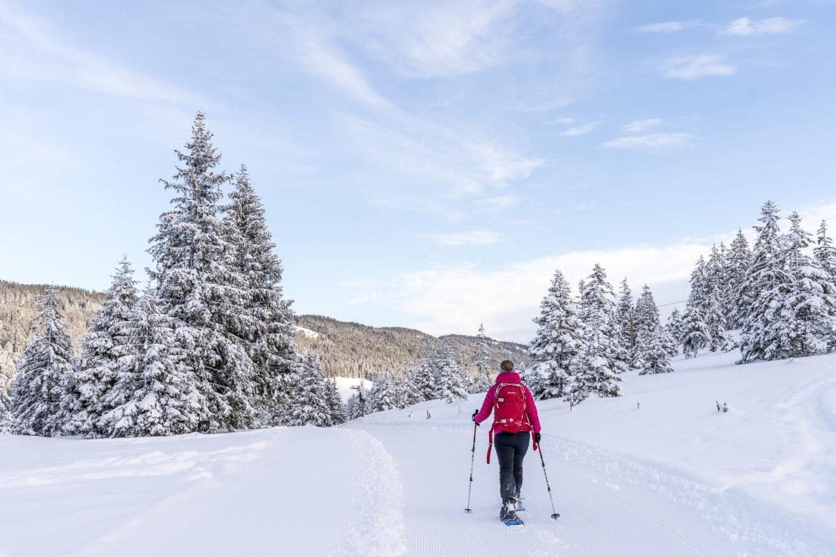 Langis Schneeschuhtrail Glaubenberg
