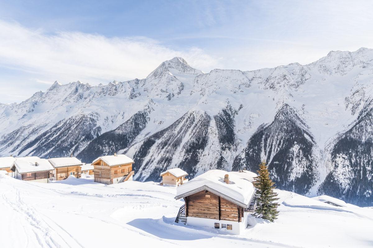 Lauchernalp Winterferien