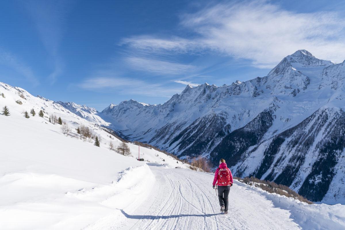 Lauchernalp Winterwanderung