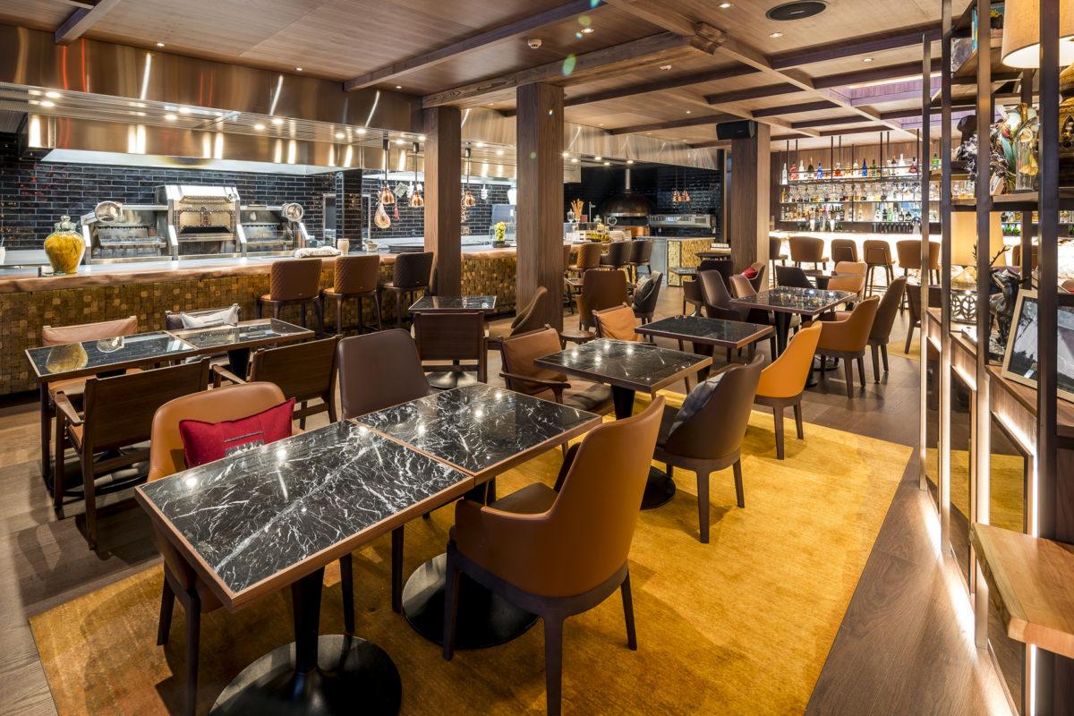 Lobby Kitchen Schweizerhof Zermatt