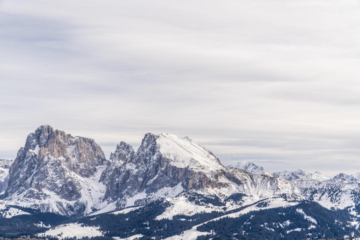 Panorama Puflatsch Seiser Alm