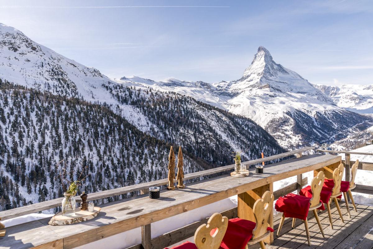 Paradies Sunnegga Zermatt