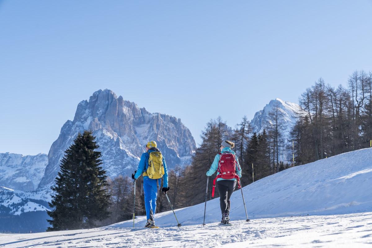 Schneeschuhtour Seiser Alm