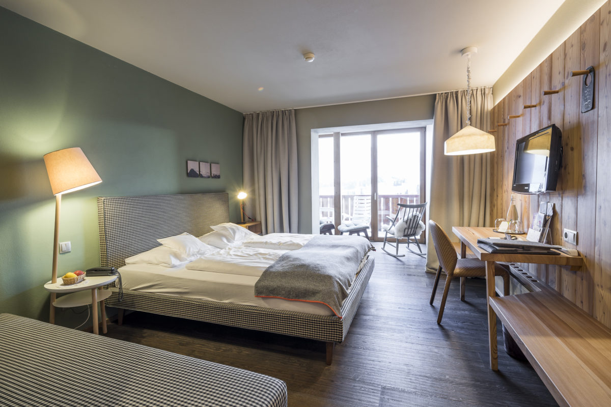 Seiser Alm Hotel Icaro Zimmer