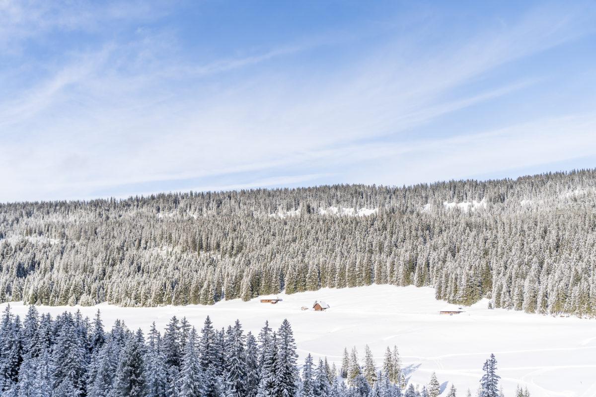 Winter Glaubenberg Loipe