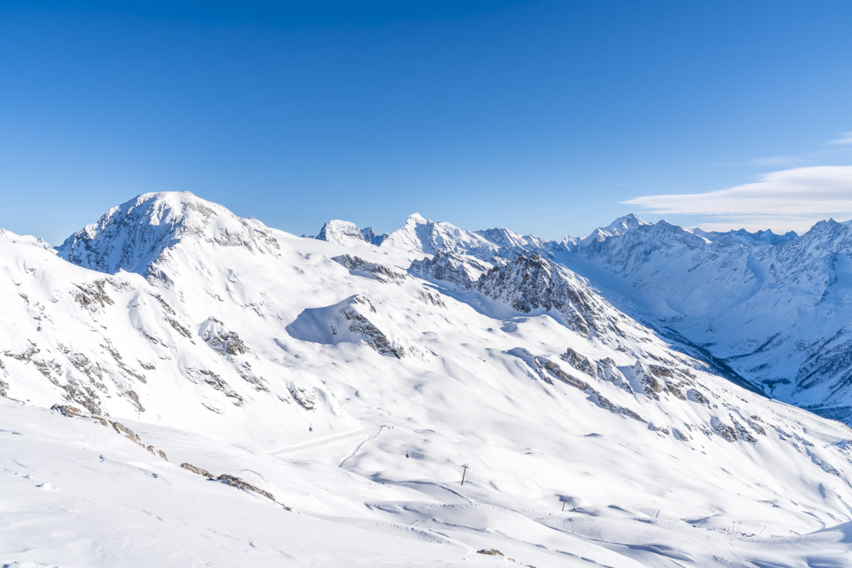 Winter auf der Lauchernalp