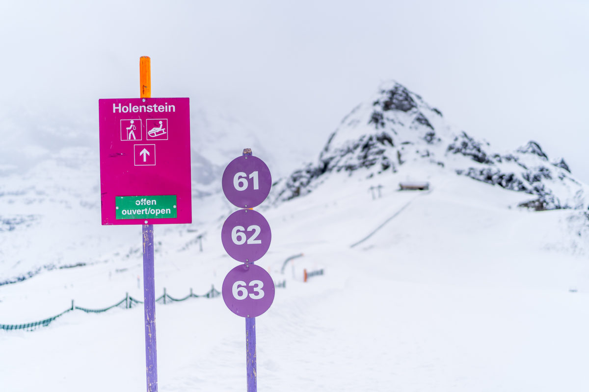 Winterwanderweg Männlichen - Kleine Scheidegg