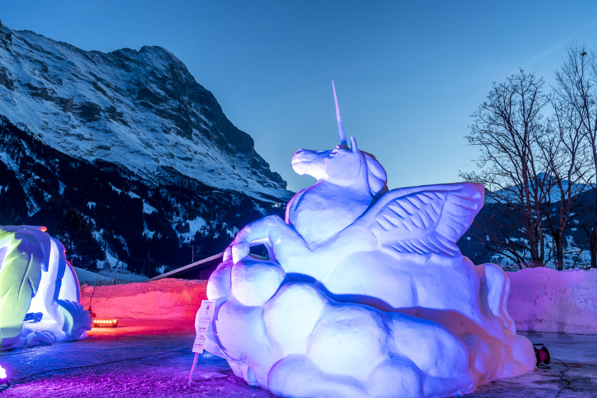 Word Snow Festival Grindelwald