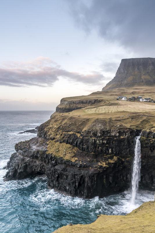 Gasadalur Fotospot Färöer-Inseln
