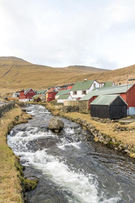 Gjogv Färöer-Inseln